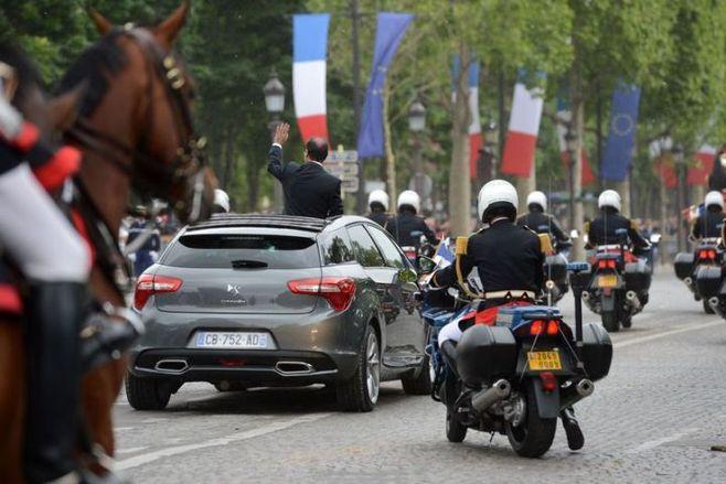 Hollande Président voiture