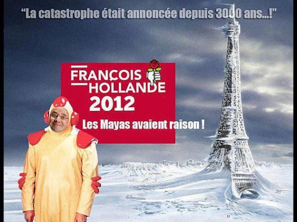 François Hollande Président 2012