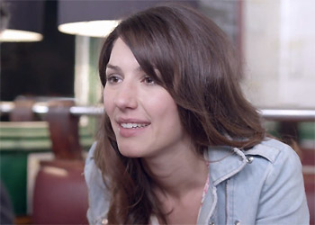 Doria Tillier nouvelle miss météo canal plus 2012