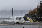 Ouragan Sandy, des images spectaculaires