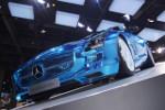 SLS électrique de Mercedes au Salon de l'Auto 2012