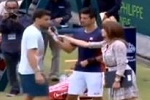 Novak Djokovic et Grigor Dimitrov imitent Maria Sharapova