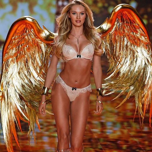 Candice Swanepoel Fashion Show Victoria's Secret 2014